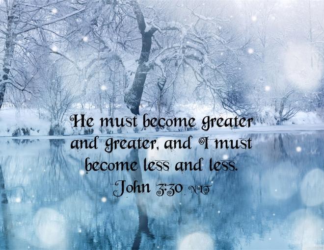 John 3 30