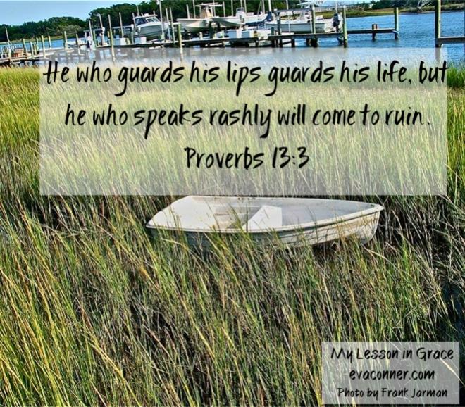 Proverbs 13.3