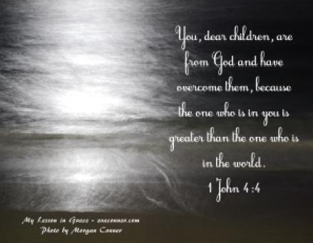 1 John 4-4
