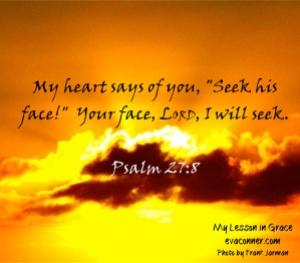 Psalm 27 8